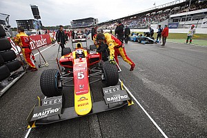 GP2 Race report A fighting 4th for Fabio Leimer and Racing Engineering Hockenheim Sprint Race.