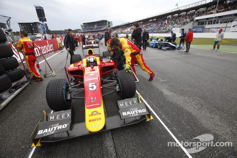 A fighting 4th for Fabio Leimer and Racing Engineering Hockenheim Sprint Race.