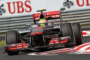 More rain in Hungary as Hamilton goes fastest on P Zero Yellow