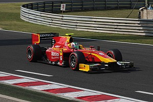 GP2 Race report Superb second for Berthon in Sprint Race in Budapest