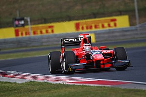GP2 Race report Chilton snatches last minute pole in Budapest