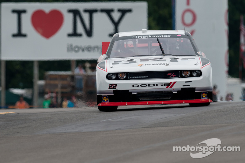 Keselowski leads most laps at Watkins Glen