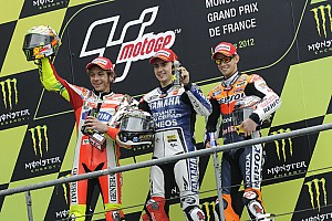 MotoGP Press conference Stoner, Lorenzo, Hayden, Rossi and Bradl takes center stage at Indianapolis