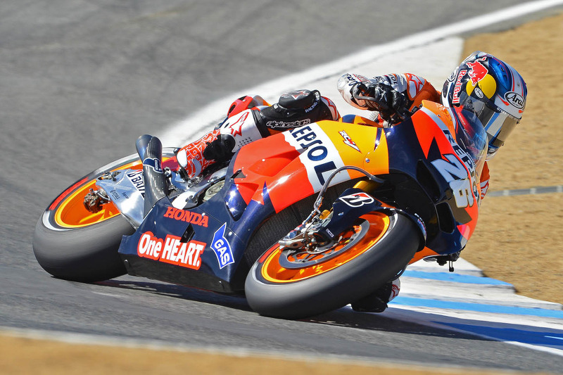 Pedrosa leads the way in Indianapolis Free Practice