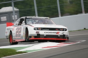 NASCAR XFINITY Race report Dodge's Hornish and Villeneuve finish 2 - 3 at Montreal