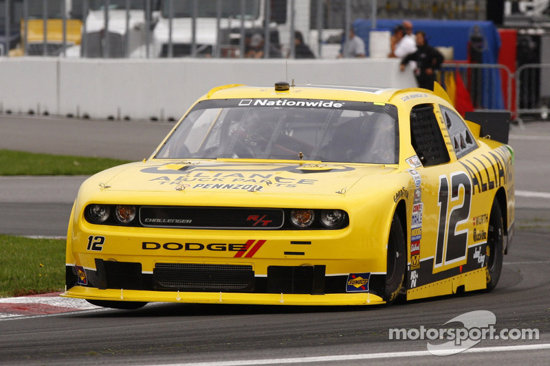 Dodge's Hornish and Villeneuve finish 2 - 3 at Montreal