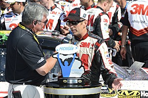 NASCAR Sprint Cup Press conference Biffle on winning Michigan: We were so good out front