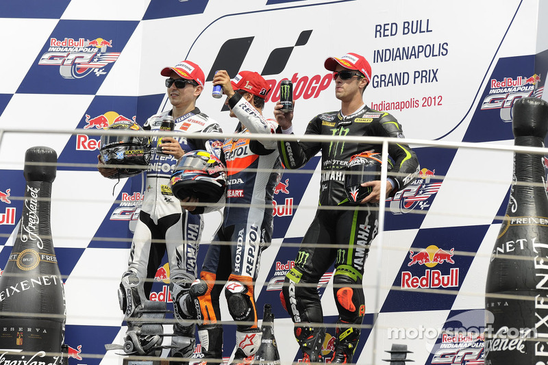 Pedrosa becomes first two-time MotoGP winner at Indy