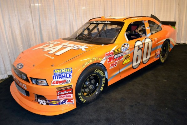 Bayne displays Univ. of Tennessee school pride in return to series at Bristol
