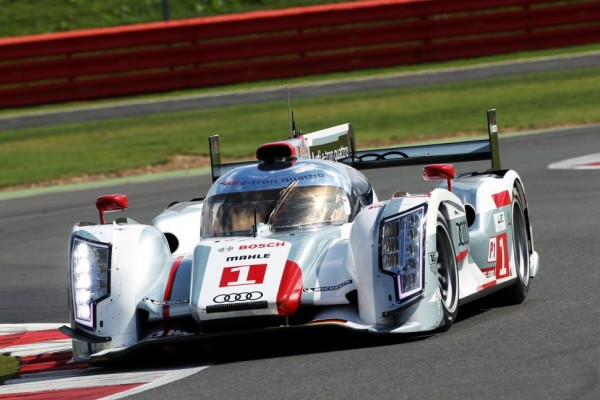 Treluyer and McNish lock out front row for Audi at Silverstone
