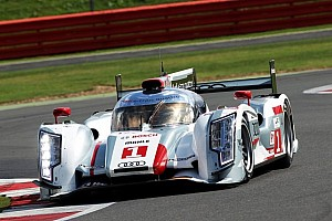 WEC Qualifying report Treluyer and McNish lock out front row for Audi at Silverstone