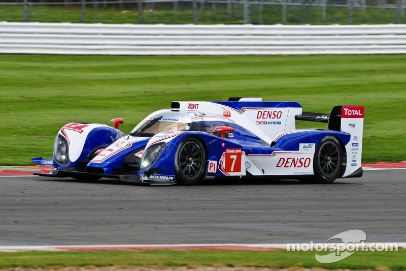 Second row for Toyota Racing at Silverstone