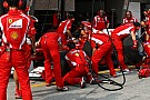 Ferrari fastest pit crew in 2012 - analysis
