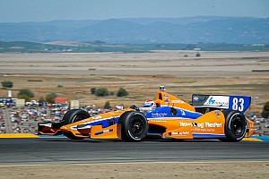 IndyCar Race report Kimball runs strong race with late-technical issue at Sonoma