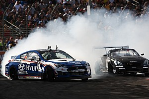 Formula Drift Race report Hankook's Millen and Aasbo finish 1 - 2 in Formula Drift at Las Vegas