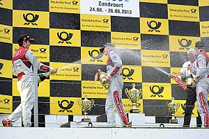 DTM Race report Audi one-two-three victory at Zandvoort