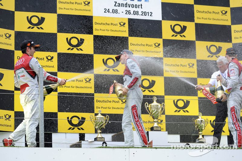 Audi one-two-three victory at Zandvoort