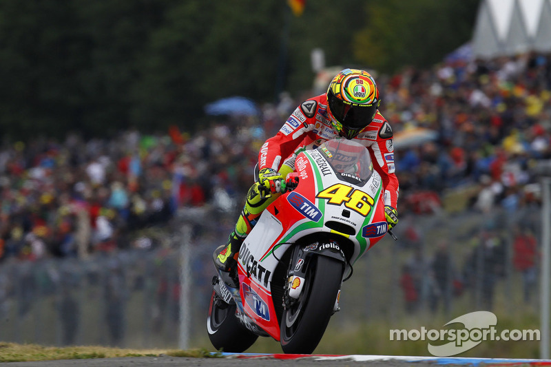 Seventh place for Valentino Rossi at Brno