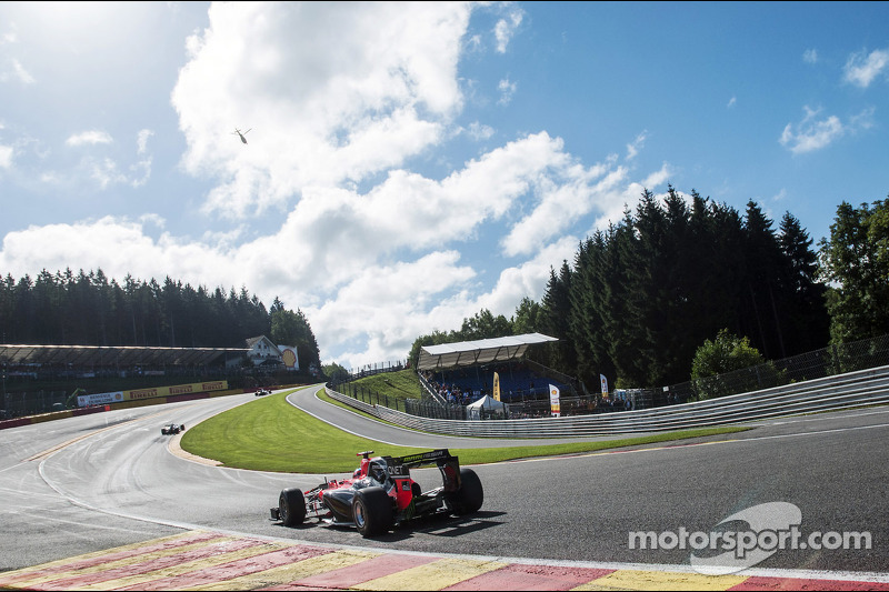 Glock and Pic had a challenging time qualifying at Spa