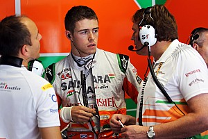 Formula 1 Practice report Sahara Force India enjoyed a productive start for this weekend's Italian Grand Prix.