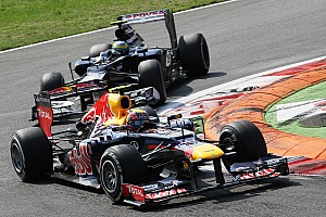 Formula 1 Rumor Webber's 'older' alternator survived at Monza