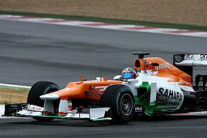 Formula 1 Testing report Sahara Force India completed its final day of Young Driver testing at Magny-Cours
