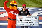 Andretti won the pole position at MAVTV 500