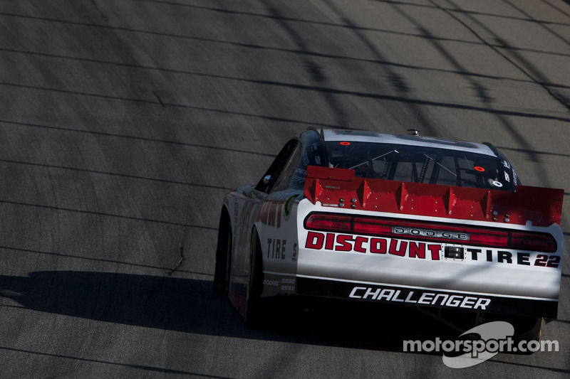 Keselowski takes fourth for Dodge at Chicagoland