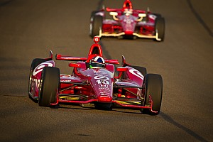 IndyCar Race report Franchitti finishes second, Dixon third in Fontana for Ganassi
