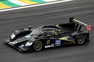 WEC Race report Lotus shows strong performance in LMP2 at Sao Paulo