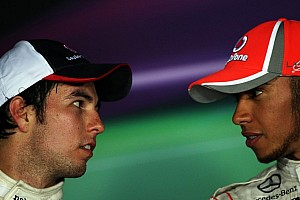 McLaren eyes Perez as Hamilton saga races on