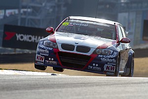 WTCC Race report Strong comeback for BMW driver Tom Coronel in USA debut  races at Sonoma
