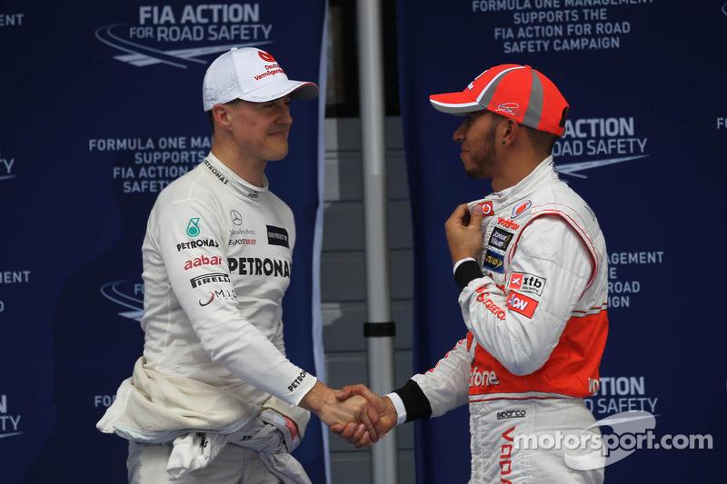Brawn admits Mercedes' interest in Hamilton