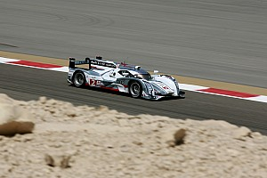 WEC Qualifying report Grid positions one and two for Audi in Bahrain