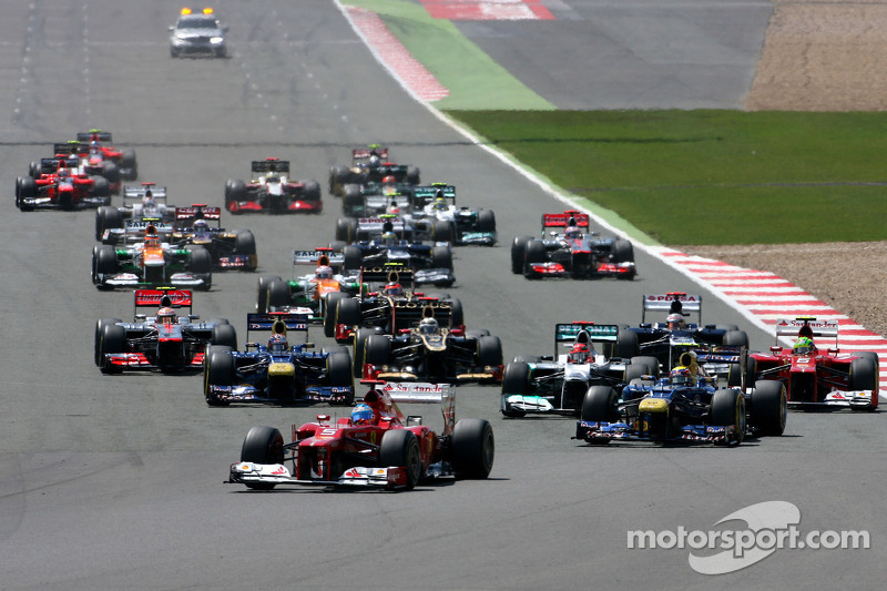 British Grand Prix at Silverstone has a new date for 2013