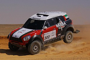 Cross-Country Rally Stage report Viladoms and Schlesser triumphant on second stage of Pharaons Rally