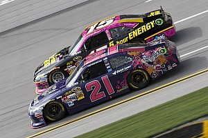 NASCAR Sprint Cup Race report Late fuel stop drops Bayne to 21st at Talladega