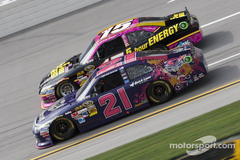 Late fuel stop drops Bayne to 21st at Talladega