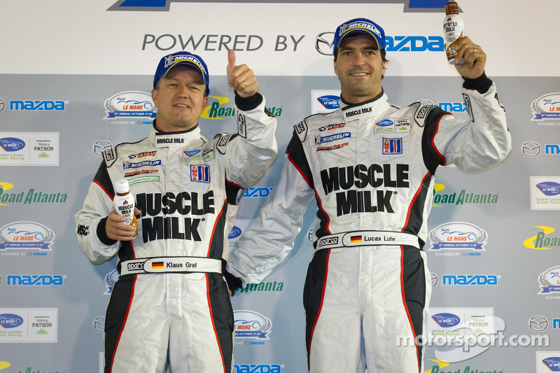 Graf, Luhr and Pickett Racing: 2012 Champions!