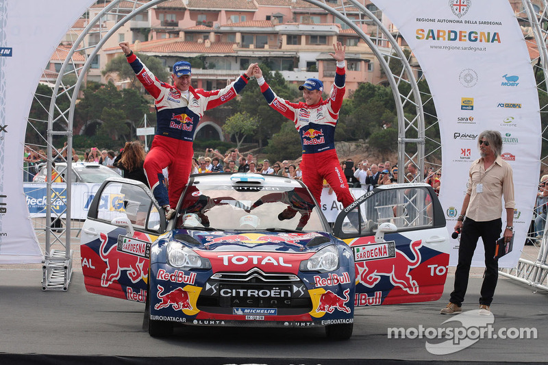 Hirvonen and Lehtinen claim first Rally Italia Sardegna victory