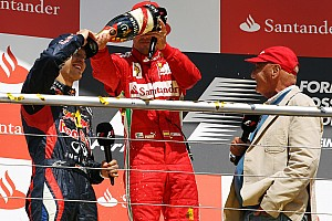 Formula 1 Commentary Title not Vettel's yet - Lauda