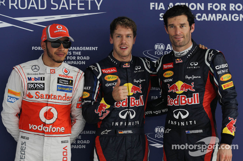 Vettel and Red Bull dominate Indian GP qualifying