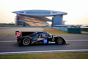 WEC Qualifying report Pole Position for Lotus LMP2 at the 6 Hours of Shanghai