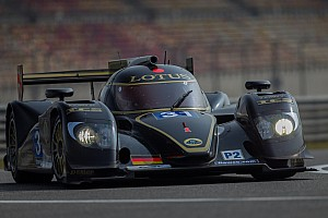 Lotus was on a good pace at the 6 Hours of Shanghai