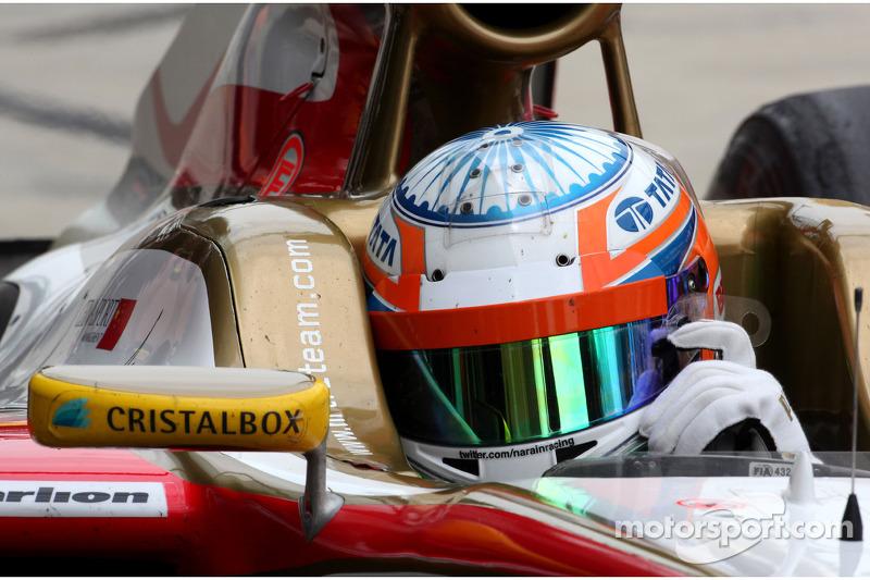 Keep politics out of F1 - Karthikeyan