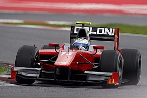 GP2 Testing report Filippi sets the pace in day one of Barcelona testing