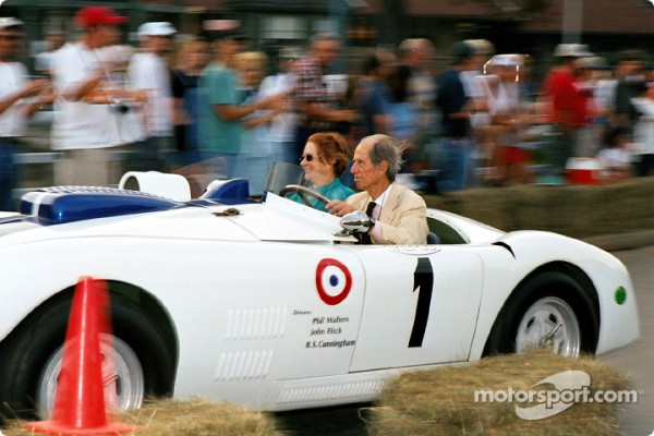 Mercedes-Benz remembers legendary race car driver John Fitch