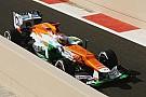 Midfield qualifying for Sahara Force India on Abu Dhabi GP