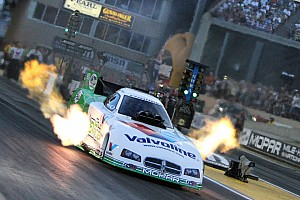 NHRA Qualifying report Beckman rebound from explosion for provisional No. 1 spot at Pomona finale