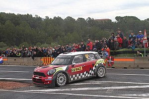 WRC Leg report Mini finished 2012 with most stage wins in Spain